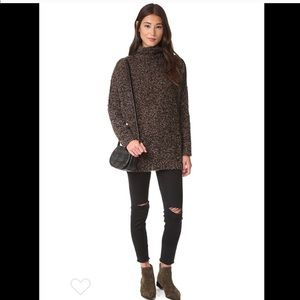 Free People 98% alpaca sweater